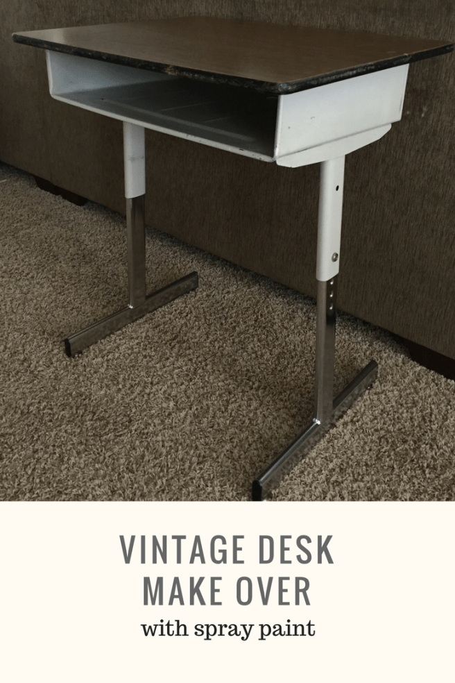 Pinterest Vintage Desk Make Over