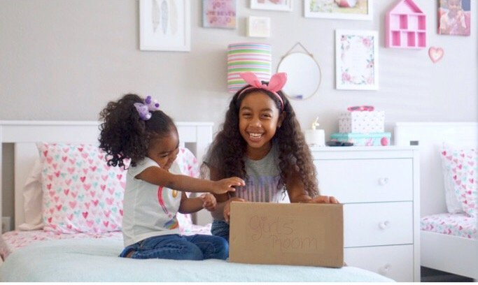 Girls' Room Reveal: Fun Ways to Decorate a Shared Room.