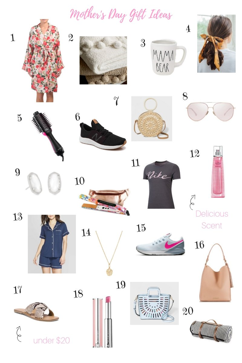Mother's Day Gift Guide, Gifts, Mother's Day, Gift Guide, Mom, Gifts for Mom, Mom's Day, Perfect Picks, Perfect Finds, Fragrance, Givenchy, Kendra Scott, Jewelry, Athleisure, Handbags, Handbag, Purse, Modern Mom, Sunglasses, Giving Back, Wednesday