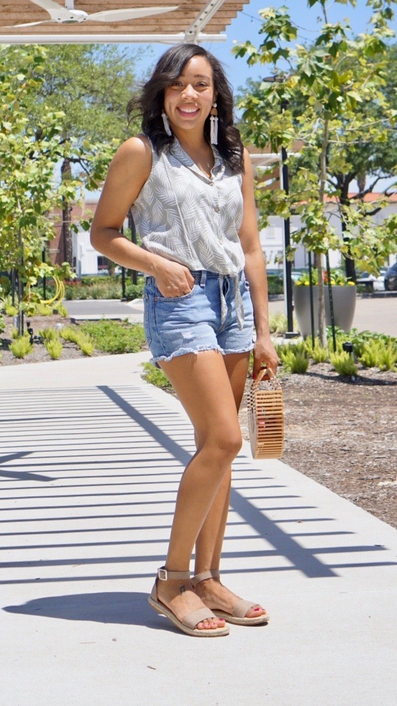 Trendy Thursday LinkUp + My Favorite Levi's Shorts