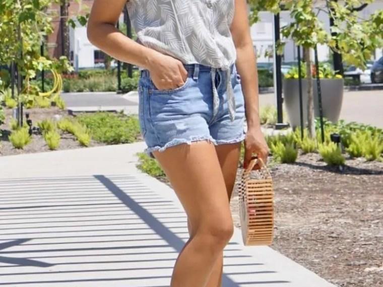 Trendy Thursday LinkUp + My Favorite Levi's Shorts