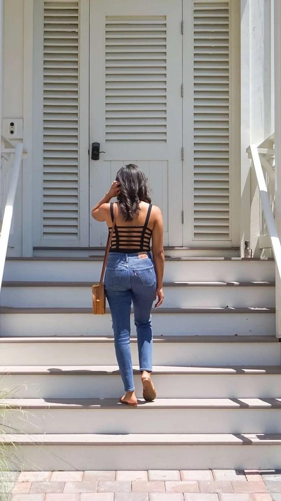 Trendy Thursday LinkUp: Bodysuits + Jeans