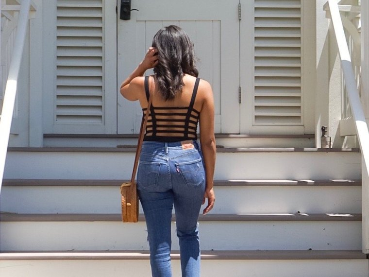 Trendy Thursday LinkUp: Bodysuits + Jeans