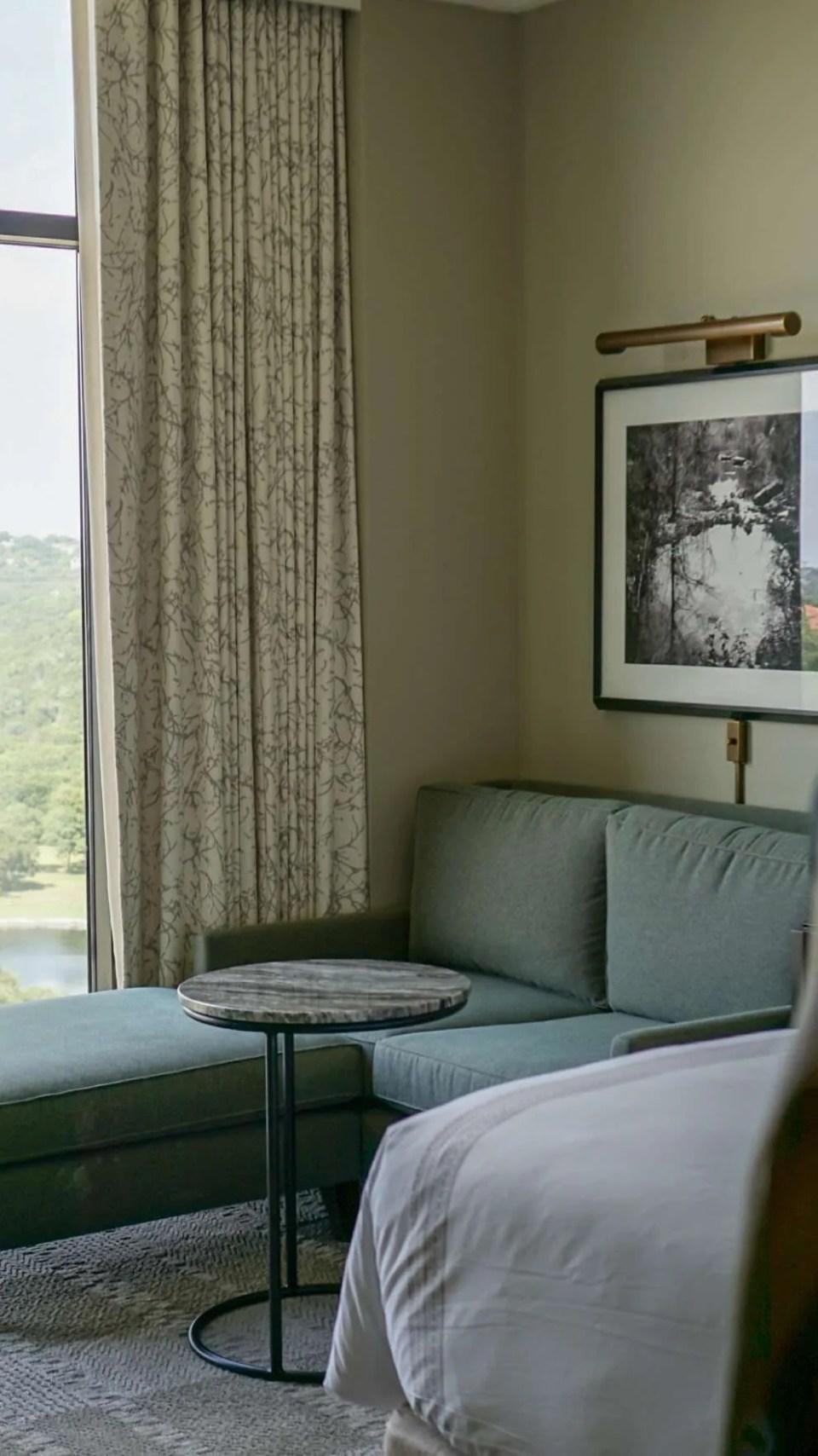 Sitting area at the Omni Barton Creek Resort & Spa in Austin