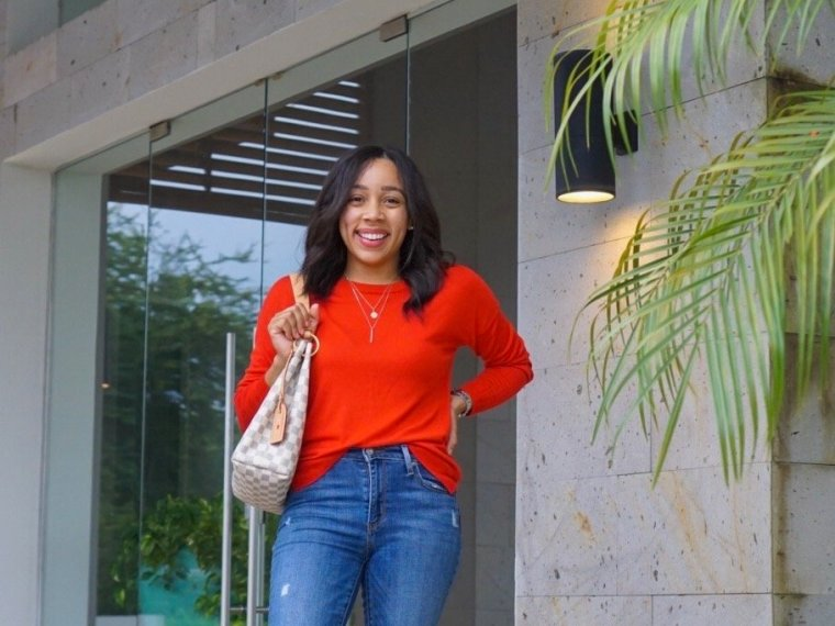 Trendy Thursday LinkUp + The First Fall Outfit (a Momiform)