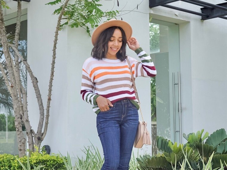 Trendy Thursday LinkUp + Current Sweater Weather Obsessions, Stripes