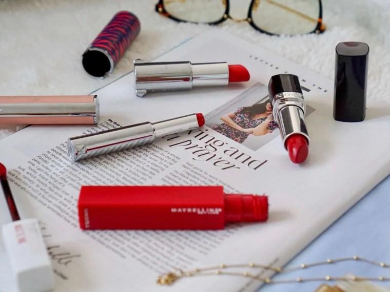 Trendy Thursday LinkUp + Four of My Favorite Red Lipsticks