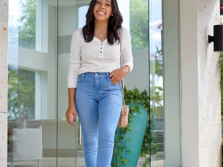 Trendy Thursday LinkUP + Henley Tops to Create Easy Fall Outfits