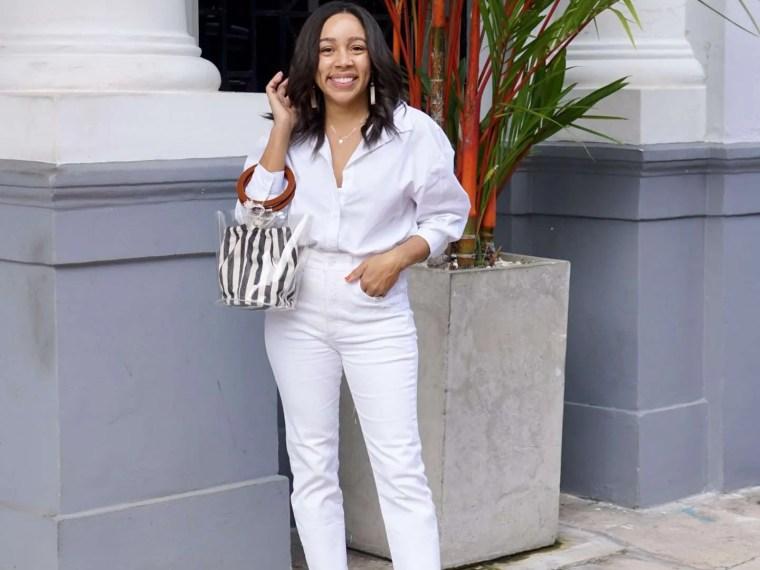 Three Ways to Wear White Jeans this Season