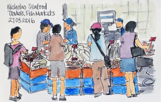 Nicholas Seafoods at the Fish Market
