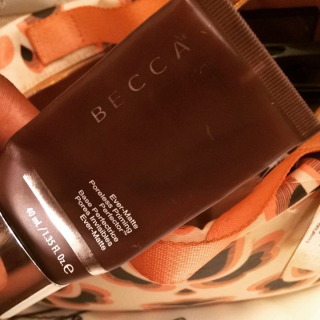 beccacosmetics Primer was a splurge It helped keep foundation inhellip