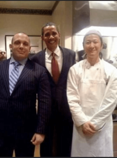 Romain Arnaud, Barack Obama, Kenichi Tajima