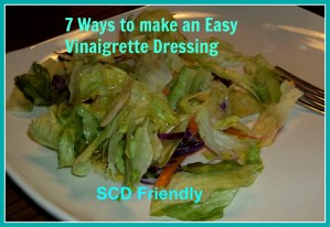 Easy Vinaigrette Dressing SCD Friendly