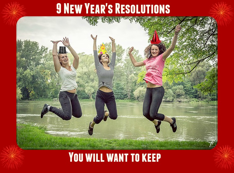 9 New Years Resolution Idea's