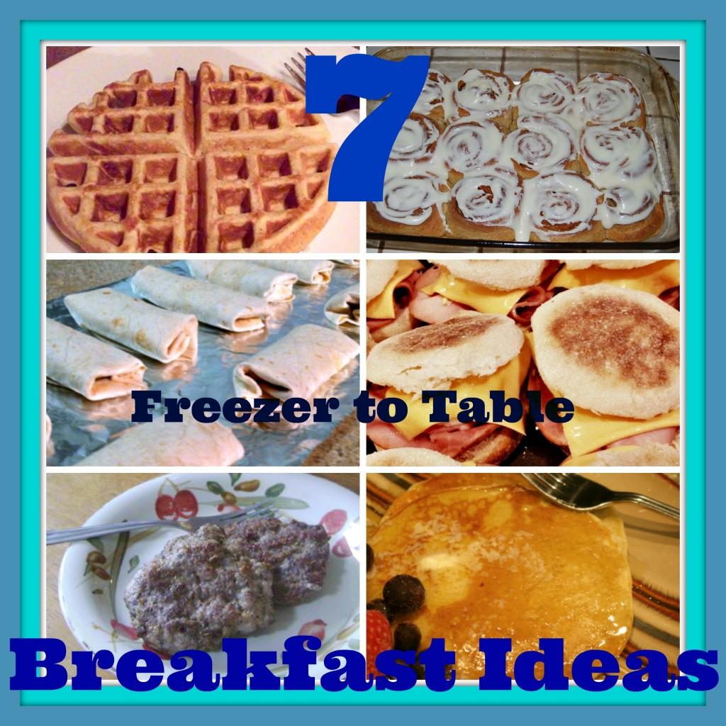 7 Freezer to Table Breakfast Ideas Writing