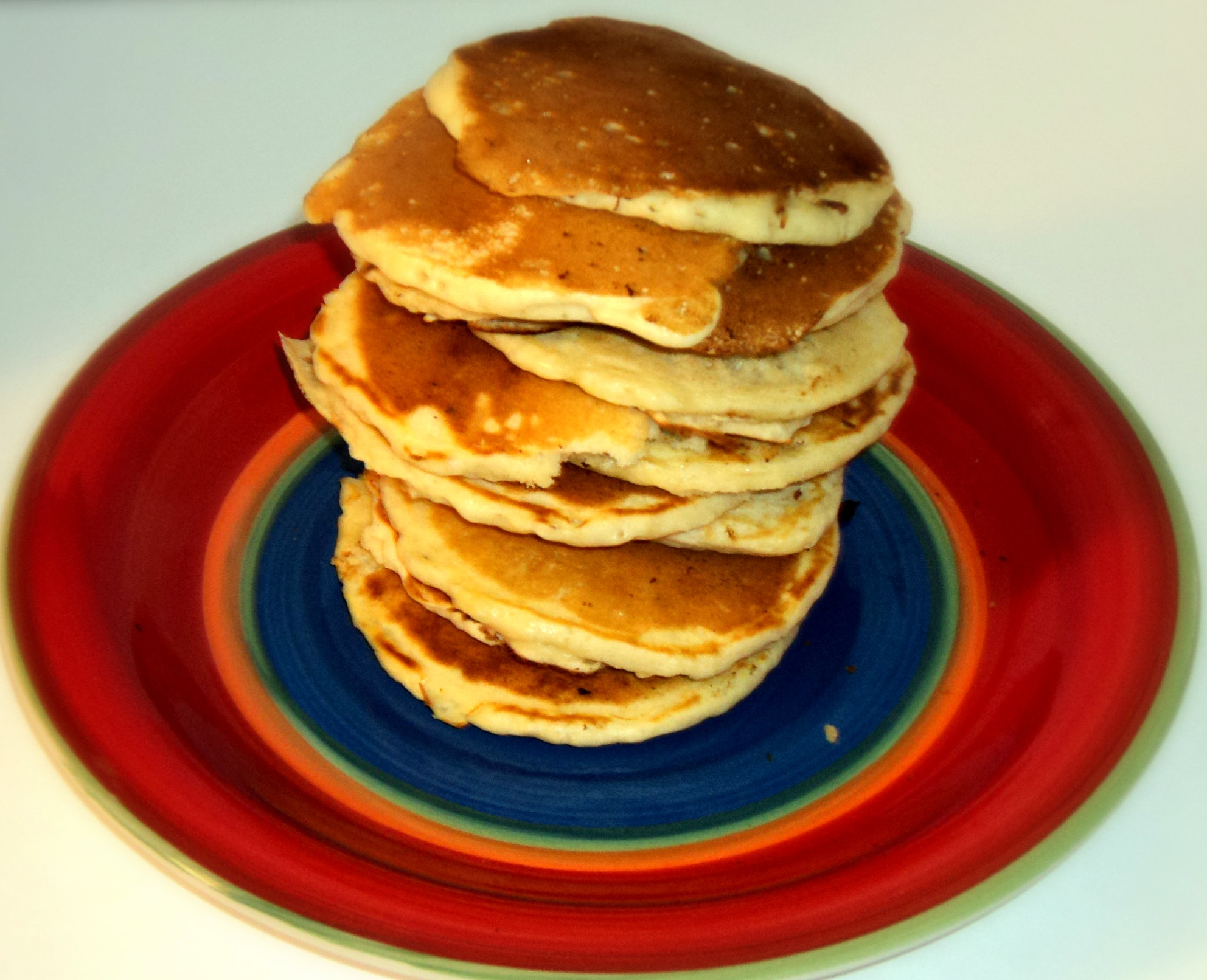 Old fashioned pancake recipe thirtysomethingsupermom you could also use a cup or anything that has a pouring spout it is ridiculously easy to make your pancakes look even better with this neat trick ccuart Gallery