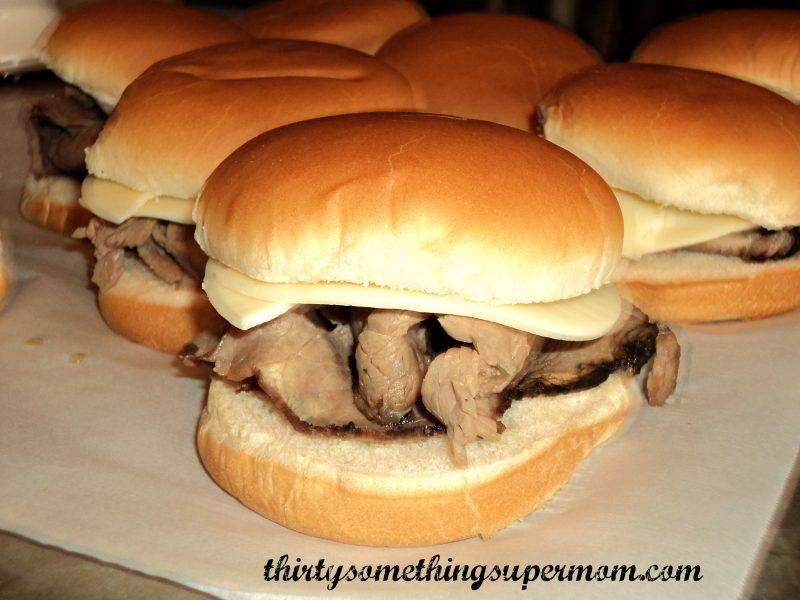Easy Italian Beef Sandwich Recipe