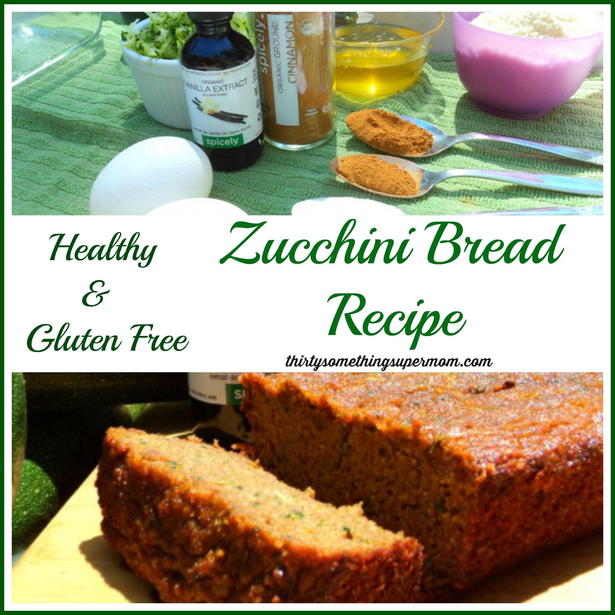 Healthy Zucchini Bread Recipe Thirtysomethingsupermom