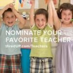 Thank a Teacher with thredUP.com & Giveaway