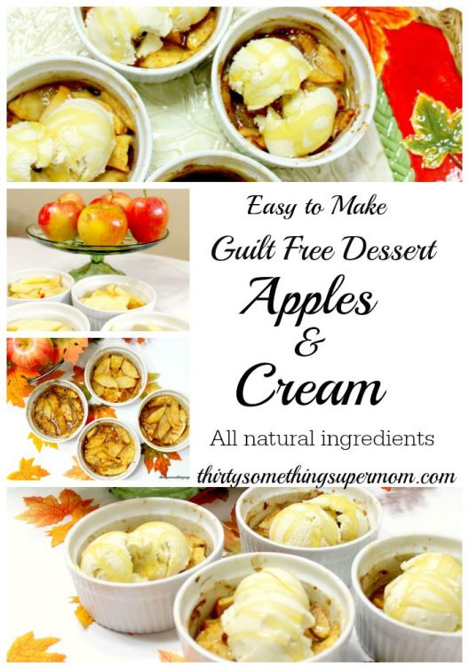 Guilt Free Desserts Apples & Cream