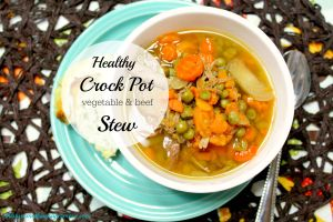 Crock Pot Vegetable & Beef Stew