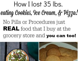 Losing Weight While Eating Pizza,Cookies & Ice Cream