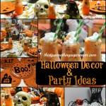 Spooky Halloween Party & Tablescape Ideas