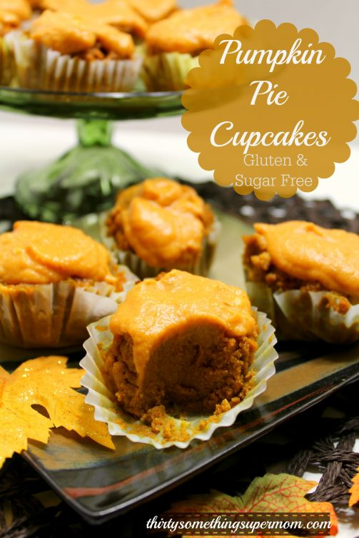 SCD Pumpkin Pie Cupcakes