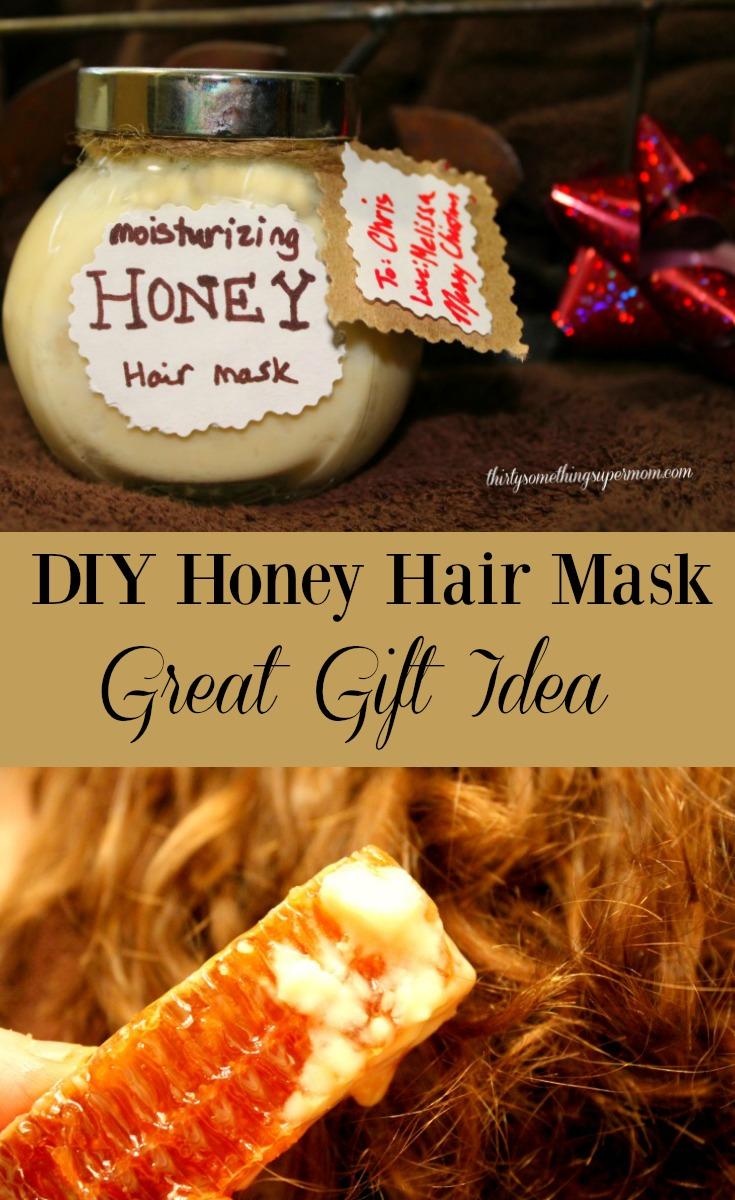 Honey hair mask at home