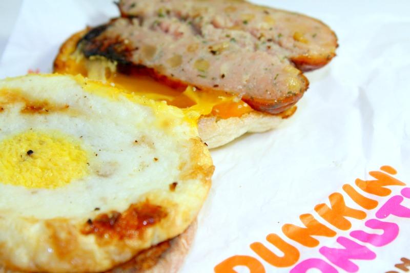 Hot Breakfast Ideas Dunkin Donuts Menu