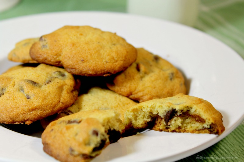 Yummy Mint Chocolate Chip Cookies Recipe