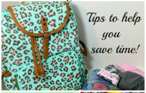 Tips for rocking your back to school morning routine.