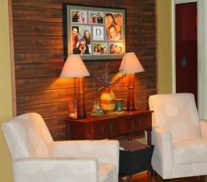 DIY wall decor: Wood Plank Accent Wall