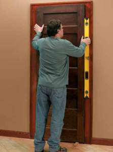 Add an elegant touch to any space in your home with this tutorial that teaches you How to Hang a Reclaimed Door in an Existing Jamb.
