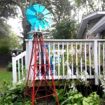 Garage Sale Finds & a Painted Windmill