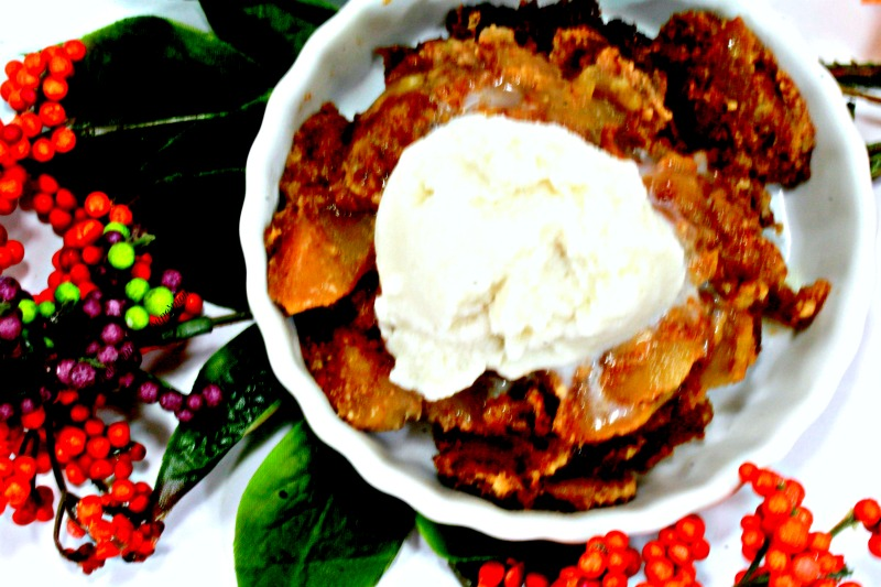 SCD CrockPot Apple Cobbler Paleo
