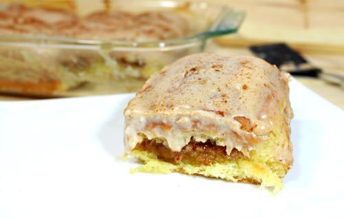 Gooey Cream Cheese Cinnadish