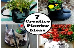 7 Creative Flower Planter Ideas for Spring