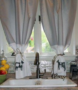 DIY No Sew Farmhouse Style Curtains