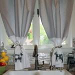 DIY No Sew Farmhouse Style Curtains