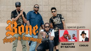 Bone Thugs with Naughty By Nature & Coolio Headed to Cedar Rapids