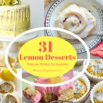 31 Lemon Desserts that are Perfect for Summer
