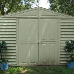 Simple Shed Makeover