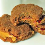 Guilt Free Peanut Butter and Jelly Sandwich Cookies