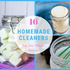 Homemade Cleaners for the Whole House