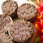 Quick Banana Spice Healthy Muffins
