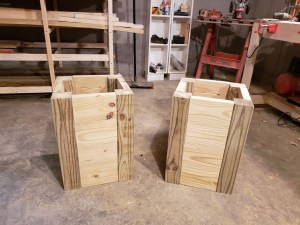Plant stand boxes