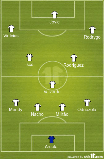 8 Changes Likely: 4-3-3 Real Madrid Predicted Lineup Vs ...