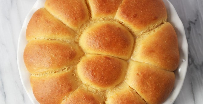 Sweet Potato/ Mascarpone Dinner Rolls