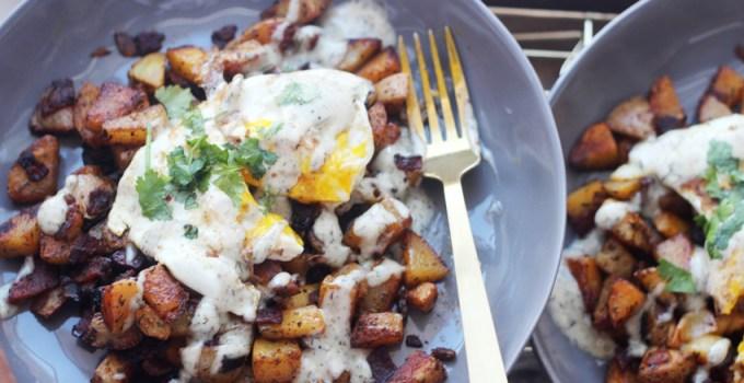 Whole 30 Breakfast skillet potatoes
